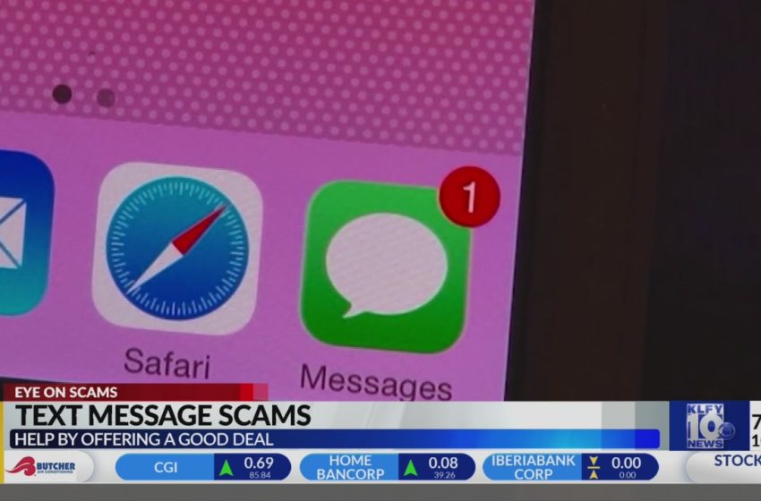 Text message scams offering 'too good to be true' discounts