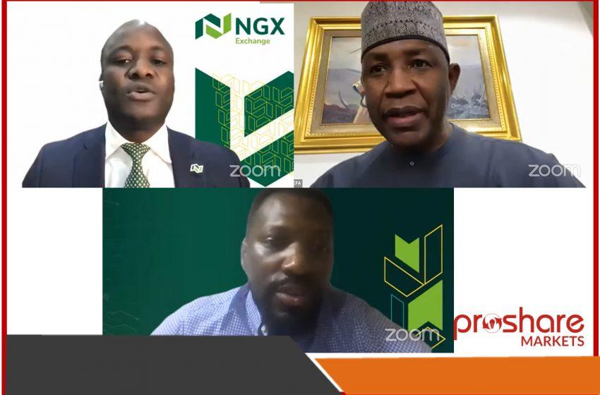 Popoola, Yuguda, Agboola Chart Course for Technological Advancements in Nigeria's Capital Market