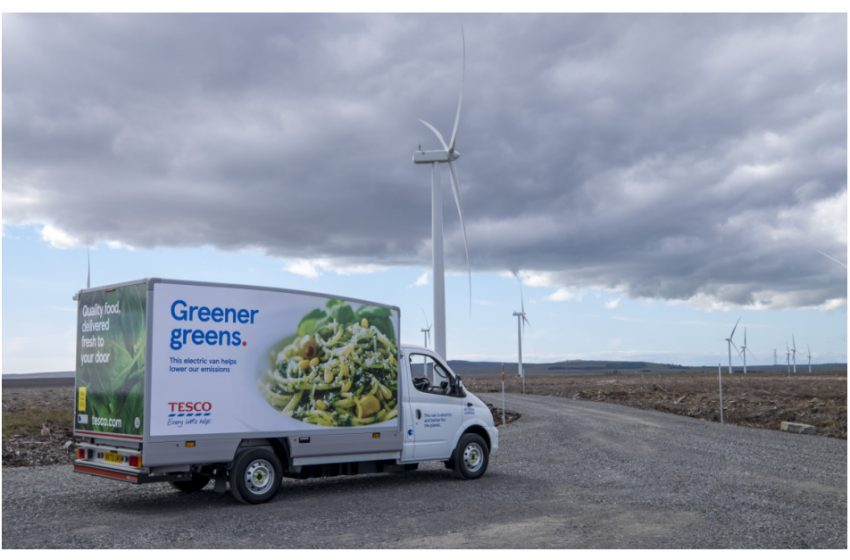 EO Charging Wins Tesco's Home Delivery EV Charging Business