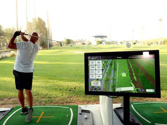 Abu Dhabi City Golf Club goes hi-tech on the driving range