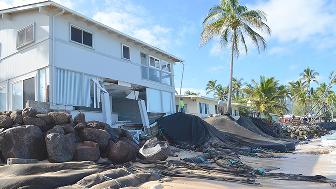 Coastal real estate under serious threat due to climate change