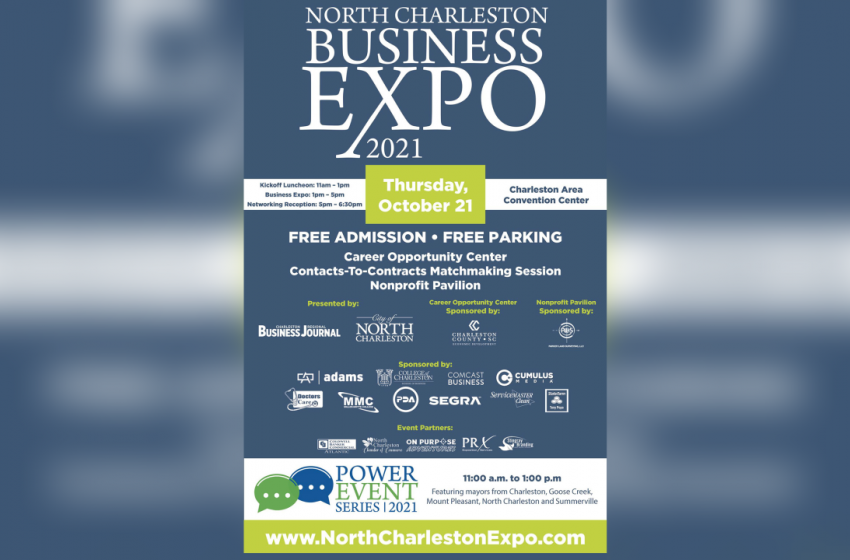North Charleston Business Expo 2021 happening October 21