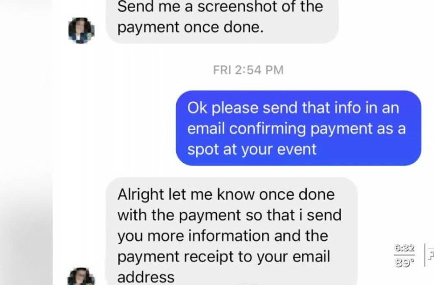 Facebook scammer impersonates local nonprofit to get money from other business